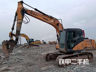 瀘州三一重工SY135C挖掘機實拍圖片