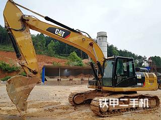 卡特彼勒326D2L液压挖掘机实拍图片