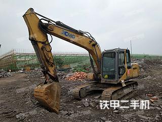 瀘州徐工XE135B挖掘機實拍圖片