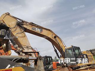 臨沂卡特彼勒349D2L液壓挖掘機實拍圖片