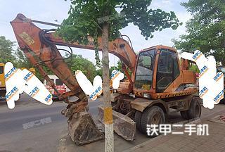 北京斗山DH150W-7挖掘机实拍图片