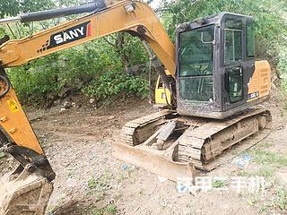 三一重工SY75C挖掘机实拍图片