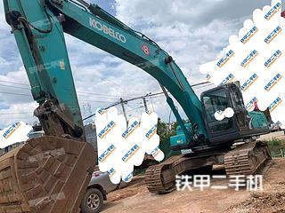 文山神鋼SK350LC-8挖掘機實拍圖片