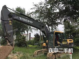 沃爾沃EC210D挖掘機實拍圖片