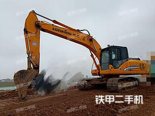 安徽-巢湖市二手龙工LG6225挖掘机实拍照片