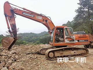 梧州斗山DH225LC-9挖掘機實拍圖片