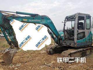 陕西-西安市二手山河智能SWE50H挖掘机实拍照片