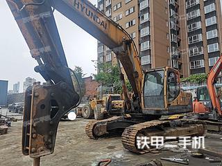 陕西-西安市二手现代R265LC-9挖掘机实拍照片
