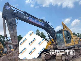 廣州沃爾沃EC210B挖掘機實拍圖片
