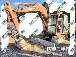 云南-红河哈尼族彝族自治州二手斗山DH70挖掘机实拍照片