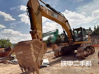 昆明卡特彼勒340D2L挖掘機實拍圖片