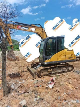 贵州-黔南布依族苗族自治州二手徐工XE75DA挖掘机实拍照片