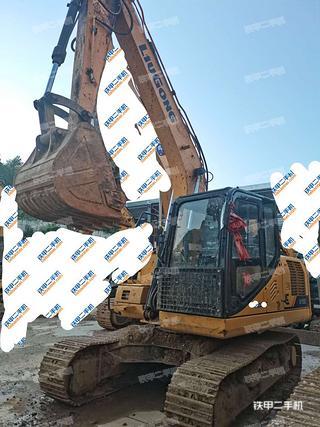 贵州-黔南布依族苗族自治州二手柳工CLG915E挖掘机实拍照片