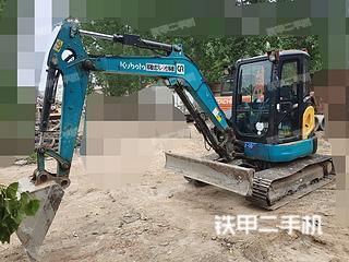 河南-南阳市二手久保田RX-403S挖掘机实拍照片