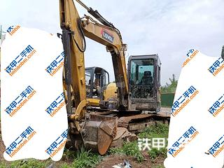 江苏-南京市二手雷沃重工FR60E-H挖掘机实拍照片