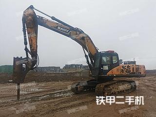 山东-日照市二手三一重工SY305C-9挖掘机实拍照片