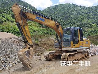 湖南-怀化市二手徐工XE150D挖掘机实拍照片