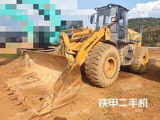 昆明龍工CDM855NE裝載機實拍圖片