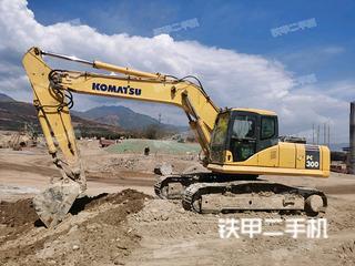 四川-绵阳市二手小松PC270-7挖掘机实拍照片