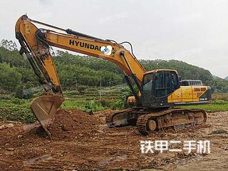 二手现代 R350LVS 挖掘机转让出售