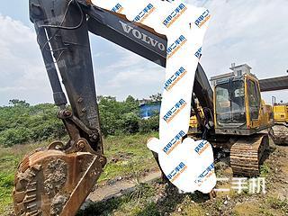 广西-桂林市二手沃尔沃EC210B挖掘机实拍照片