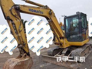 北京-北京市二手小松PC56-7挖掘机实拍照片