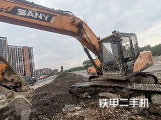 广西-桂林市二手三一重工SY215C挖掘机实拍照片