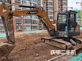 河北-石家庄市二手三一重工SY60C挖掘机实拍照片