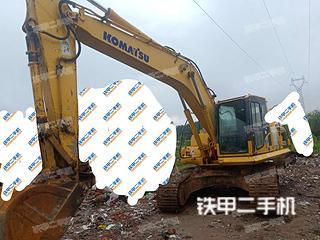 安徽-淮南市二手小松PC210LC-8挖掘机实拍照片