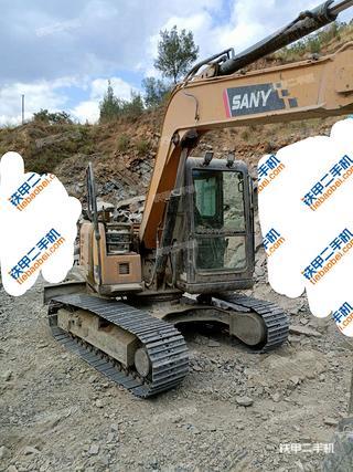 云南-大理白族自治州二手三一重工SY75C挖掘机实拍照片