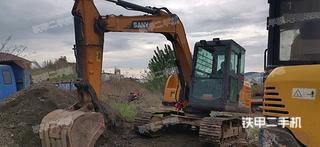 三一重工SY75C-9挖掘機實拍圖片