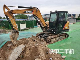 山东-济南市二手三一重工SY55C挖掘机实拍照片