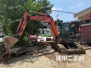贵州-贵阳市二手斗山DH60-7挖掘机实拍照片