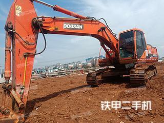 安徽-淮南市二手斗山DH225LC-7挖掘机实拍照片