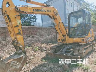 河北-邯郸市二手龙工LG6065挖掘机实拍照片