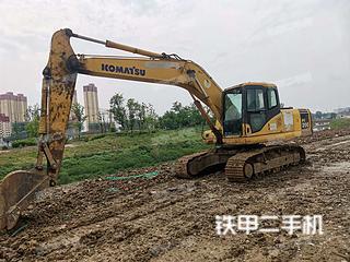 安徽-阜阳市二手小松PC200-7挖掘机实拍照片