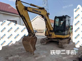 江苏-连云港市二手小松PC56-7挖掘机实拍照片