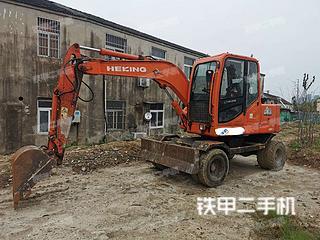 合礦HKL70挖掘機實拍圖片