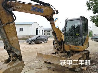 湖南-益阳市二手徐工XE55D挖掘机实拍照片