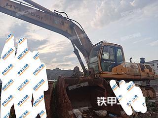 梧州現代R450LC-5挖掘機實拍圖片