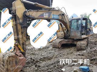 卡特彼勒320C挖掘機實拍圖片