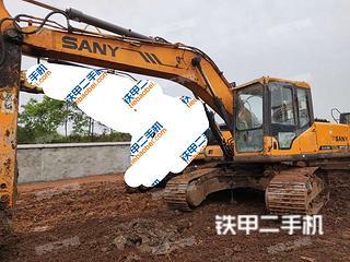 襄陽三一重工SY215C挖掘機實拍圖片