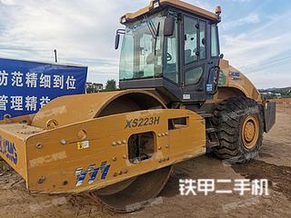 陕西-西安市二手徐工XS223H压路机实拍照片