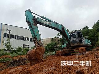 湖南-长沙市二手神钢SK260LC-8挖掘机实拍照片