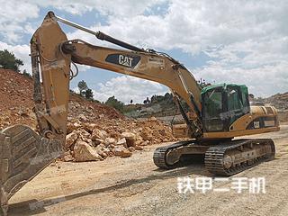昆明卡特彼勒329D挖掘機實拍圖片