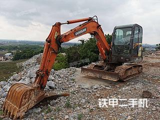 江苏-南京市二手斗山DH60-7挖掘机实拍照片