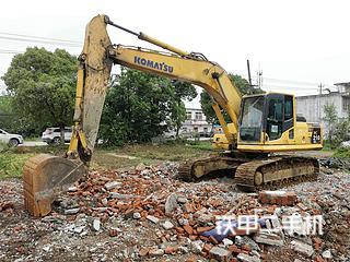 安徽-合肥市二手小松PC210LC-8挖掘机实拍照片