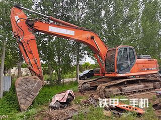 山东-青岛市二手斗山DX260LC挖掘机实拍照片