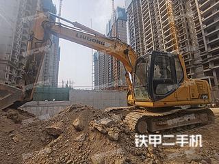 梧州柳工CLG915C挖掘機實拍圖片