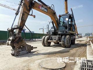徐工XE150WD挖掘機實拍圖片